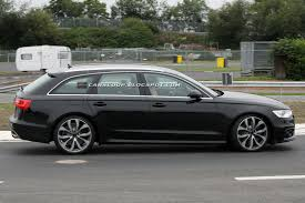 2012 audi wagon 2012 audi s6 avant scooped undisguised gets new v8 shared with