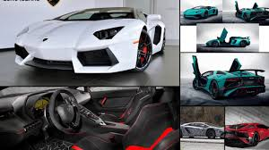 2017 lamborghini aventador convertible lamborghini aventador all years and modifications with reviews