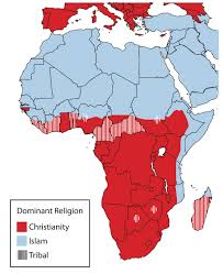 Map Of Islam Around The World by 7 2 Human Geography Of Subsaharan Africa World Regional