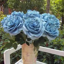 home decor multicolor phantom rose peony top silk flowers bouquet