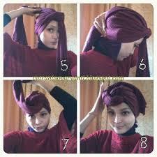 tutorial hijab turban ala april jasmine hijabers tutorial sakinah hijab tutorial for chiffon shawl part 8