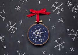 how tuesday stitched snowflake ornament etsy journal