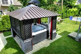 jacuzzi bois exterieur pour terrasse un coin de bien être à la maison spa jacuzzi pour la maison