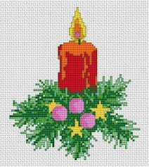 christmas decorations free cross stitch pattern christmas