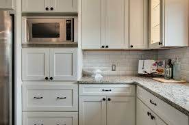 painted white shaker kitchen cabinets u2013 home design and decorating