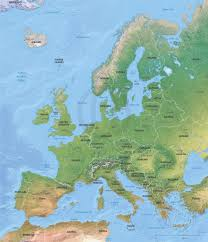 Printable Map Of Europe by Vector Map Europe Shaded Relief One Stop Map