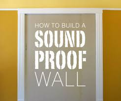 build a soundproof wall 8 steps with pictures