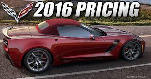 price of z06 corvette rick corvette conti archive 2016 corvette pricing announced