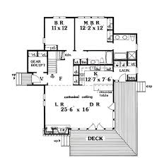 cabin style house plan 3 beds 3 00 baths 1814 sq ft plan 456 10