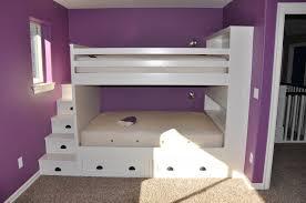 Purple Bunk Beds Diy Custom Bunk Beds Foster Catena Beds Custom Bunk Beds
