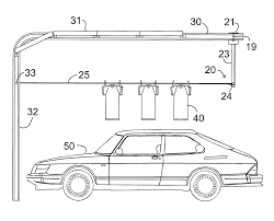 Overhead Door Holder by Patent Us20030213763 Garage Door Track Clothesline Google Patents