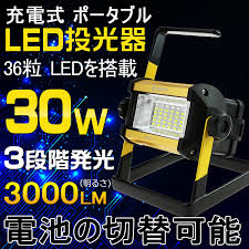 3000 lumen led work light goodgoodsy rakuten global market goodgoods emitter led
