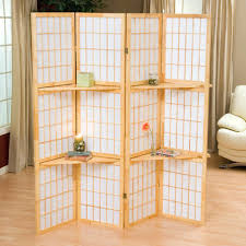 Large Room Dividers by Half Wall Room Divider 8 Low Height Screen With Translucent Wood