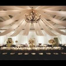 Ceiling Draping For Weddings Diy Decorating The Ceiling With Fabric Wedding Decorator Blog Good