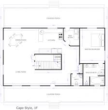 floor plans for houses free architectures cape style house plans floor plans for cape cod