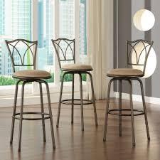 bar stool sets of 3 oscar adjustable barstools 3 piece oscar
