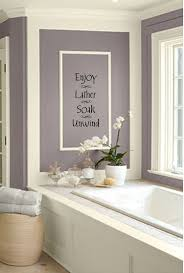 Enjoy Lather Soak Unwind Bathroom Wall DecorSticker VI00178 on