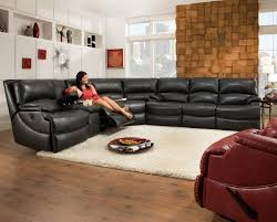 Sears Reclining Sofa by Furniture Faux Leather Sectional Sectional Recliners Sears