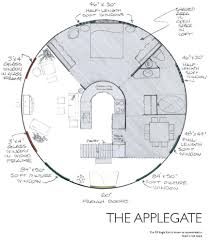Hobbit House Floor Plans by Yurt Floor Plans Applegate I Love These Plans Finally A House I