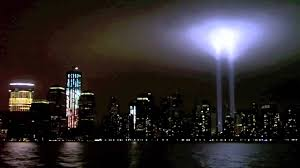world trade center lights world trade center tribute in light 9 11 11 new york ny youtube