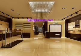 end shop in shop jewellery display cabinets and timber veneer