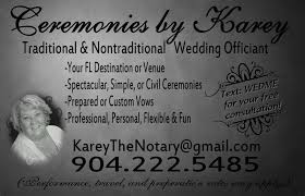 ceremonies by karey officiant palm harbor fl weddingwire