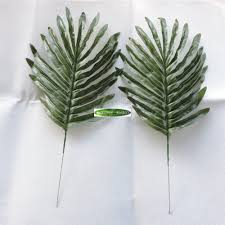 popular bamboo tree artificial buy cheap bamboo tree artificial 50pcs 40cm silk artificial sago palm bamboo plant tree leaf branch wedding home church decor green