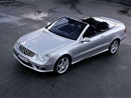 mercedes benz clk55 cabriolet amg 2003 pictures information