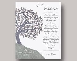 matron of honor poem matron honor poem etsy