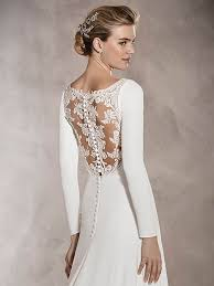 wedding dresses with sleeves wedding dresses with sleeves pronovias