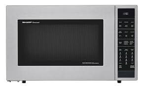 Sharpe Interior Systems Smc1585bs 1 5 Cu Ft Stainless Steel Convection Microwave
