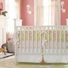 baby nursery decor white wooden classic vintage crib baby