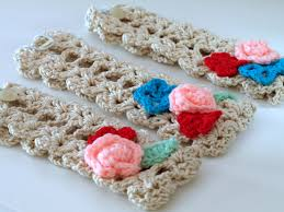 crochet hair bands freshlyfound crochet hair bands etc