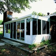 Sunroom Roof Hybrid Straight Solid Roof Solarium Or Patio Enclosure