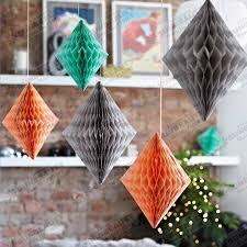 aliexpress com buy new 10cm 30pc tissue paper diamond honeycomb