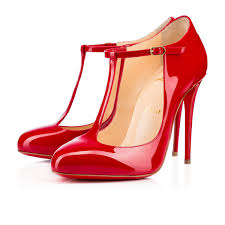 christian louboutin tpoppins patent leather red louboutin sale