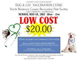 monterey county ca calendar low cost dog u0026amp cat