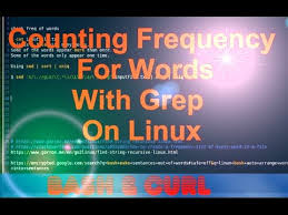 Count No Of Words In Unix Counting Frequency For Words With Grep On Linux