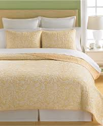 Martha Stewart Duvet Covers Martha Stewart Collection Aspendale Cotton King Quilt Butter Yellow