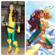 Rogue Halloween Costume Valeria Antonia Rogue Photo Sans Frontieres Cosplay Movie