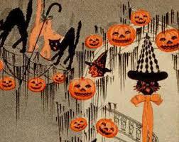 Vintage Halloween Decorations New 25 Etsy Halloween Decorations Design Inspiration Of Best 20