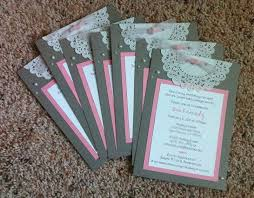 Elegant Baby Shower by Paper For Baby Shower Invitations Theruntime Com