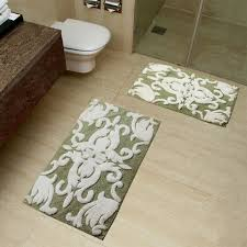 Contemporary Bathroom Rugs Sets Chesapeake 2 Pc Iron Gate Bath Rug Set Hayneedle
