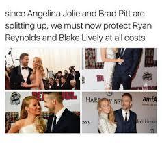 Angelina Jolie Meme - since angelina jolie and brad pitt are splitting up we must now