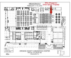 Orange County Convention Center Floor Plan Mikewagganer Part 3