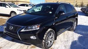 lexus crossover 2014 2014 lexus rx 350 awd touring package review black on saddle tan