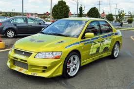 fast and furious evo 2001 mitsubishi evo fast and furious paul walker movie car bristol