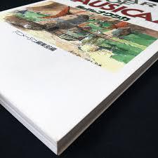 Windart Nausicaa Of The Valley Of The Wind Art Book Japan Anime Ghibli