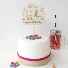 mermaid birthday cake personalised mermaid birthday cake topper by just toppers