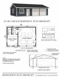 Two Story Garage Plans With Apartments This Would Be Perfect For Me On A Large Lot I Love This 2 Car
